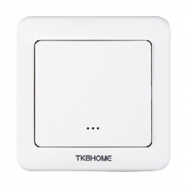 TKB Home Wallswitch with Single Paddle